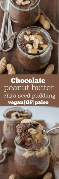 Unbelievably healthy chia seed pudding! Using protein powder