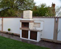Frumoase foc grătarele lui Dragomir! Hai să afli povestea lor | Adela Pârvu - Interior design blogger Barbeque Design, Backyard Fireplace, Garage Doors, Patio, Outdoor Decor, Gardening, Interior, Modern, Home Decor