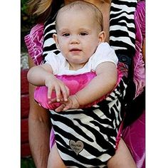 $75.99-$75.00 Baby Baby Bella Maya Black White Zebra Baby Carrier Cover - Comfortable and fashionable baby carrier cover from Baby Bella Maya. Whether you're walking your baby to the zoo or the neighbors she will enjoy the trip in her black and white zebra stripe baby carrier. Reverse is bright pink. Baby Bella Maya baby carrier covers easily slip on and off front baby carriers such as Baby Bjor ...