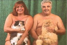 Really Weird Couples – 20 Pics.. Ummm look at the faces of those poor cats! Lol imagine the suffering they go through everyday....