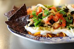 Mexican Layer Dip - Pioneer Woman