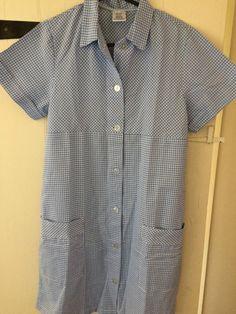 8a866359d5f Ladies Blue 80cm Tunic Dress Nurse Spa Healthcare Vet Dress Sd21 Alexandra  for sale online   eBay