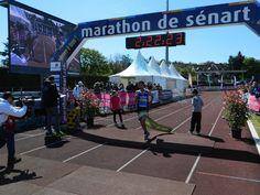 Redouanne Aouarouar, vainqueur du Marathon de Sénart 2016