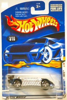 2001 - Mattel / Hot Wheels - Krazy 8s - (Chrome & Blue) - First Editions #7 of 36 Cars - Collector #019 - 1:64 Scale Die Cast Metal - MOC - OOP - LImited Edition - Collectible by Mattel. $2.96. New - LImited Edition - Collectible. First Editions - #7 of 36 Cars. 2001 - Mattel / Hot Wheels - Collector #019. 1:64 Scale - Die Cast Metal - Out of Production - MOC. Krazy 8s - Chrome and Blue Custom Car. 2001 - Mattel / Hot Wheels - Collector #019 - Krazy 8s : Chrome & B...
