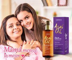 Con Açaí Oil los cabellos de tu mami se tornaran suaves, brillantes, disciplinados, sin frizz y protegidos de agresiones externas del medio ambiente. Engríela en su día!!!