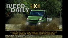 Hootsuite Iveco 4x4, Iveco Daily 4x4, The Outsiders, Trucks, Cars, Autos, Truck, Car, Automobile