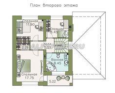План 2 (зеркальный) Catalog, House Plans, Floor Plans, How To Plan, Blueprints For Homes, Home Plans, House Design, House Floor Plans, Floor Plan Drawing