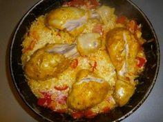 Запеченый рис с курицей : Вторые блюда