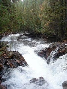 Falls above Paradise Lagoon - Chiniguchi