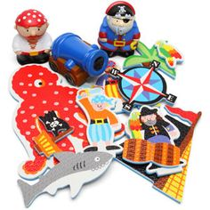 Pirate bath toys: yes im 26 years old. i STILL WANT THESE!