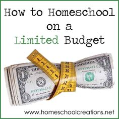 Homeschooling on a Limited Budget
