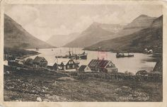 Færøerne - klaksvik -  fishingboats - harbour - houses - fjord - EB364 Postcards, Houses, Painting, Ebay, Painting Art, Paintings, Homes, Computer Case, Home