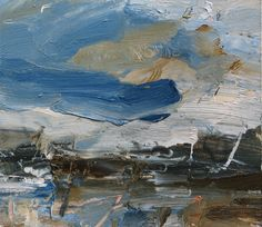 louise balaam   Mild air, from the loch       Oil on panel  20 x 23 cm