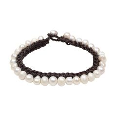 Pebble Bracelet – Hottest Designer Pearl and Leather Jewelry   VINCENT PEACH