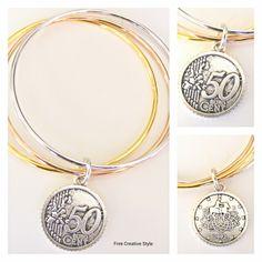 Come quello della mamma!  Ho sempre adorato i bracciali con sterline di mia madre, così ho voluto omaggiare la sua eleganza con questo bracciale con ciondolo a grandezza naturale. Visita il mio blog. Link in Bio.  #bracelet #bracciale #vintage #handmade #madeinitaly #torino #jewellerydesign by #freecreativestyle