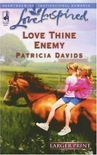 USED (VG) Love Thine Enemy (Love Inspired #354) by Patricia Davids