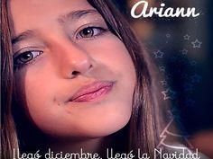 Canción de Navidad - Llegó Diciembre, llegó la Navidad - ARIANN (9 años)