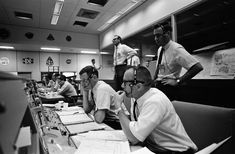 Mission Control during Apollo 10