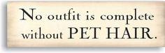 Wooden Sign, Pet Hair | Yankee Magazine