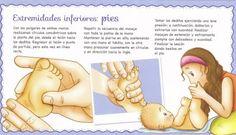 Estimulación Temprana niños y bebes. El masaje shantala en imágenes.
