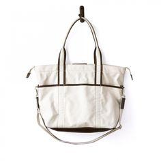 747b35045 UTILITY BAG Natural Canvas and Brown Latigo Best Canvas, Picnic Bag, Diy  Bags,
