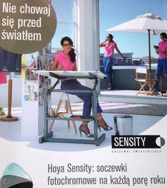 Efektywność działania szkieł fotochromowych HOYA www.optyktuszynska.pl
