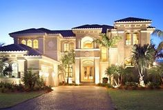 Luxury Home Design Mediterranean Style lednight