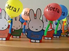 Leuk idee voor traktatie in Nijntje thema Kids Party Treats, Birthday Treats, Bunny Party, Baby First Birthday, Fruit Art, Party Items, Childrens Party, Little Gifts, Kids And Parenting