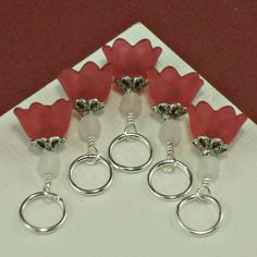 Knitting Stitch Markers |Pinned from PinTo for iPad|
