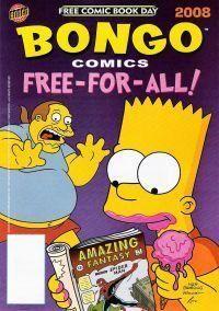 Bongo Comics Free-For-All! FCBD 2008