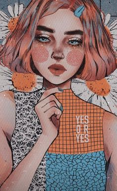 Cool Art Drawings, Art Drawings Sketches, Abstract Face Art, Photo Chat, Cartoon Art Styles, Portrait Art, Cute Art, Art Inspo, Watercolor Art