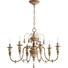 Found it at Wayfair - Salento 6 Light Candle Chandelier