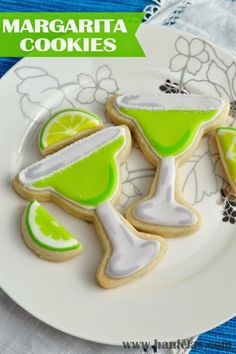 Summer is in the full swing! Let's make Margarita Cookies for your next summer party. To make Margarita Cookies you need Sugar Cook...