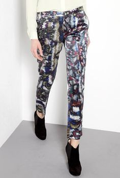 Theyskens' Theory - Iplay Small Padgette Camo Trousers #15Things #fashion #style #trending #camo #trousers #TheyskensTheory