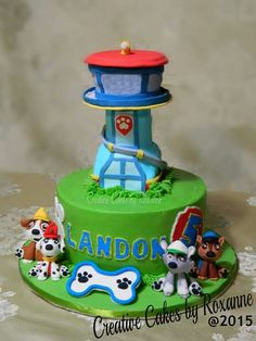 Paw Patrol cake  Creative Cakes by Roxanne