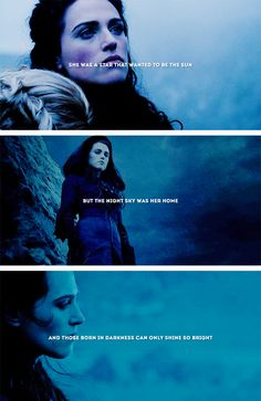 Morgana: — some things just aren't meant to be // k.s.    #merlin