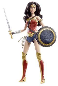 Amazon.com: Barbie Collector Batman v Superman: Dawn of Justice Wonder Woman Doll: Toys & Games