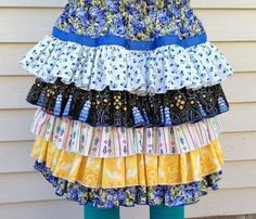 ruffles on cloths | Ruffles on Etsy, couture clothing designs by Pink Mouse Kids on Etsy ...