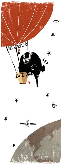 -Elephant Express by Alfredo Caceres-