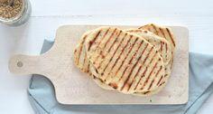 Naanbrood van 2 ingrediënten - Uit Pauline's Keuken