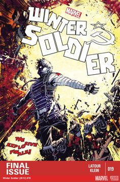 Winter Soldier #19 cover by Declan Shalvey.