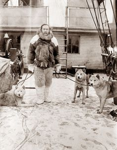 Admiral Robert Peary, shown here in 1907, prior to his expedition to the North Pole.