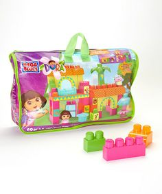 Take a look at this Dora's House Mega Blok Set by Dora the Explorer on #zulily today!