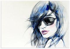 Premium collection by Home affaire Leinwandbild »I wear my sunglasses«, in 2 Größen ab 109,99€. Auf festes Canvas aus 100% Baumwolle gedruckt bei OTTO