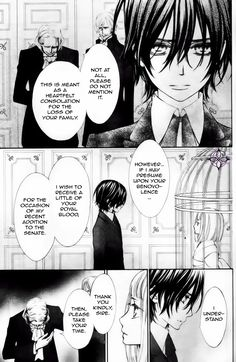 Read manga Vampire Knight Memories Vol.001 Ch.004: Between the end of life and heaven online in high quality