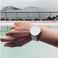 Larsson & Jennings CM Silver Watch for men. Larsson & Jennings, Clean Design, Minimalist Design, Contemporary, Watch, Classic, Silver, Men, Derby