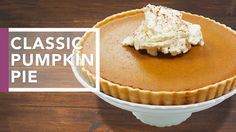 Delicious Apple Butter Pumpkin Pie Recipe! Perfect for Thanksgiving & Holiday Dinners!