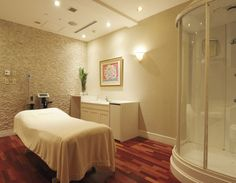 spa interior design concept - Facial room, Beauty salon interior and Salon interior design on ...