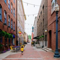 How Alleys Are Becoming Pathways to Urban Revitalization.  (Idea for lights in the garden)