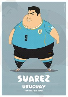 Fat Players   FIFA World Cup on Behance